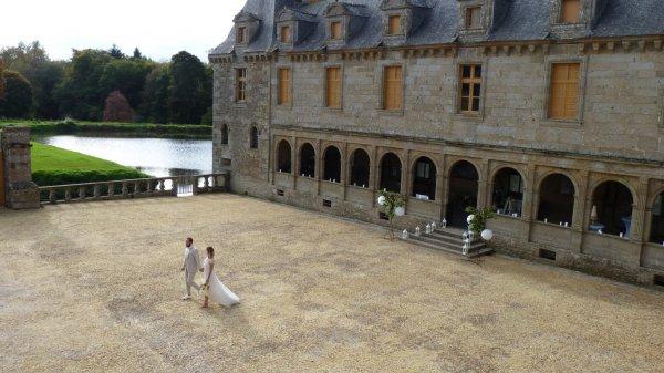 Mariage au Château des marches de Bretagne