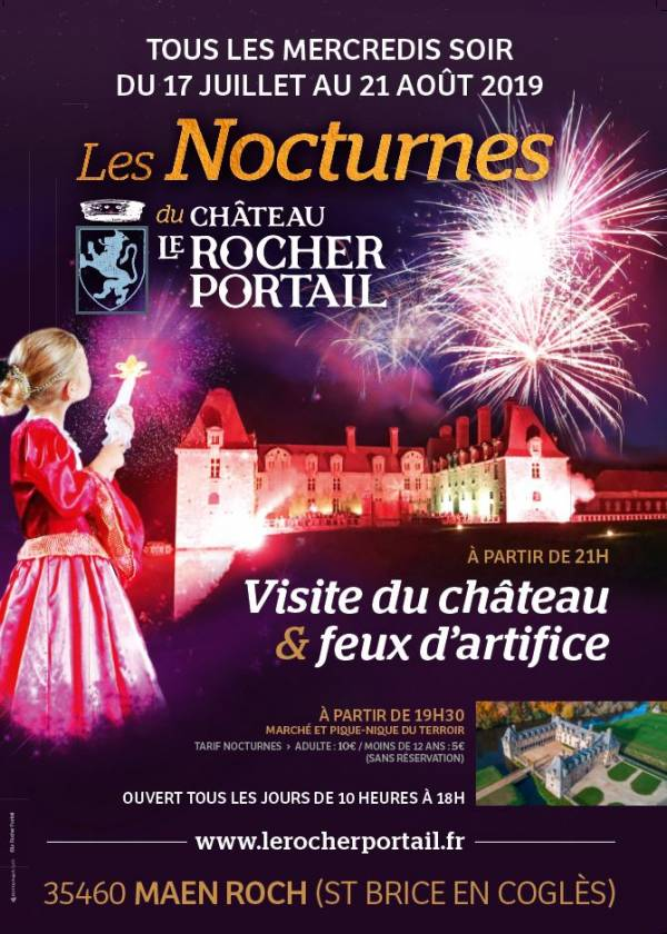 animations Rocher Portail 2019